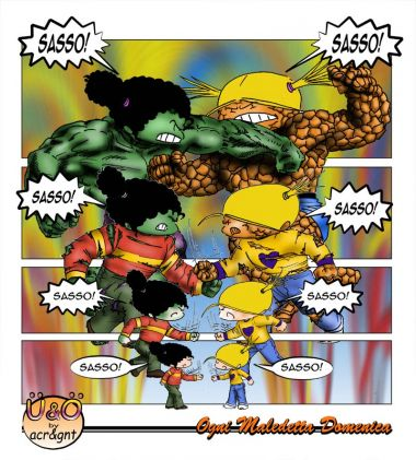 Hulk Contro La Cosa