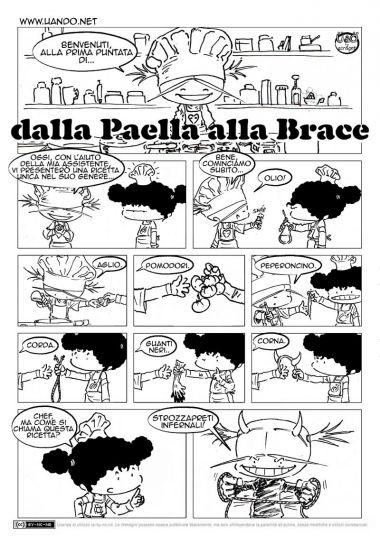 Dalla Paella Alla Brace