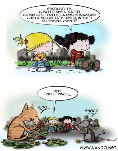 Come Il Gatto Col Topo