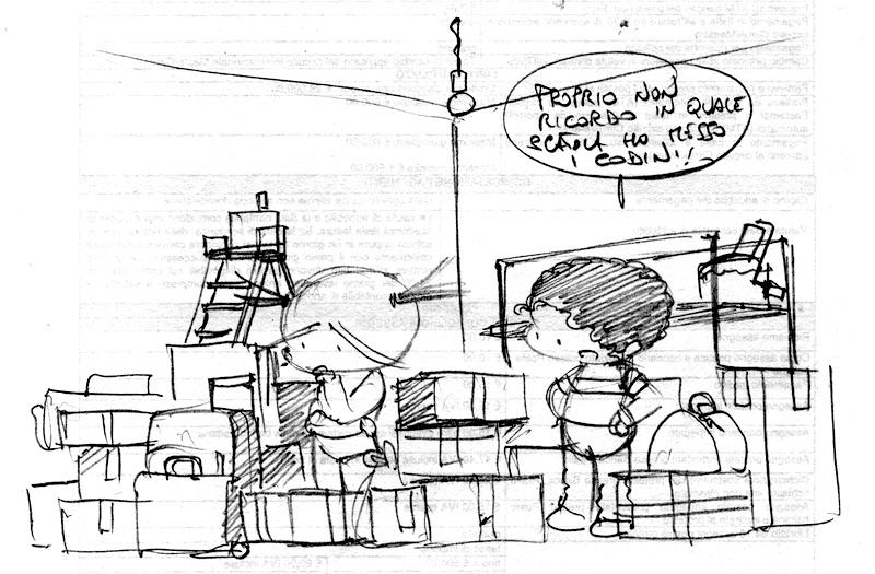 Famoso Trasloco | Uando fumetto gratuito italiano MM77